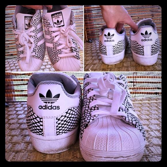 adidas Shoes - Adidas Superstar Originals Ortholite W7.5, M5.5!